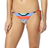 Fox Racing Ladies Stereo Side Tie Bikini Bottoms Size XS Fluo Orange