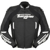Furygan Cobra Leather Motorcycle Jacket XL Black White