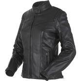 Furygan Bella Ladies Leather Motorcycle Jacket M Black