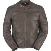 Furygan Brody Leather Motorcycle Jacket L Brown