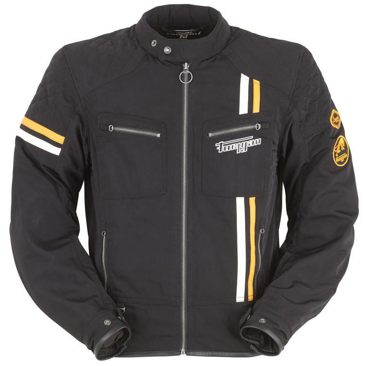Furygan Hero Evo Motorcycle Jacket 2XL Black White