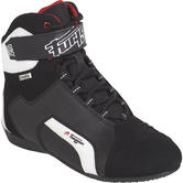 Furygan Jet D3O Sympatex Leather Motorcycle Boots 37 Black White (UK 4)