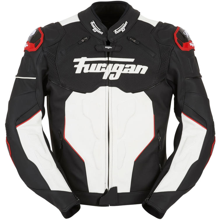Furygan Raptor Motorcycle Jacket S Black White Red