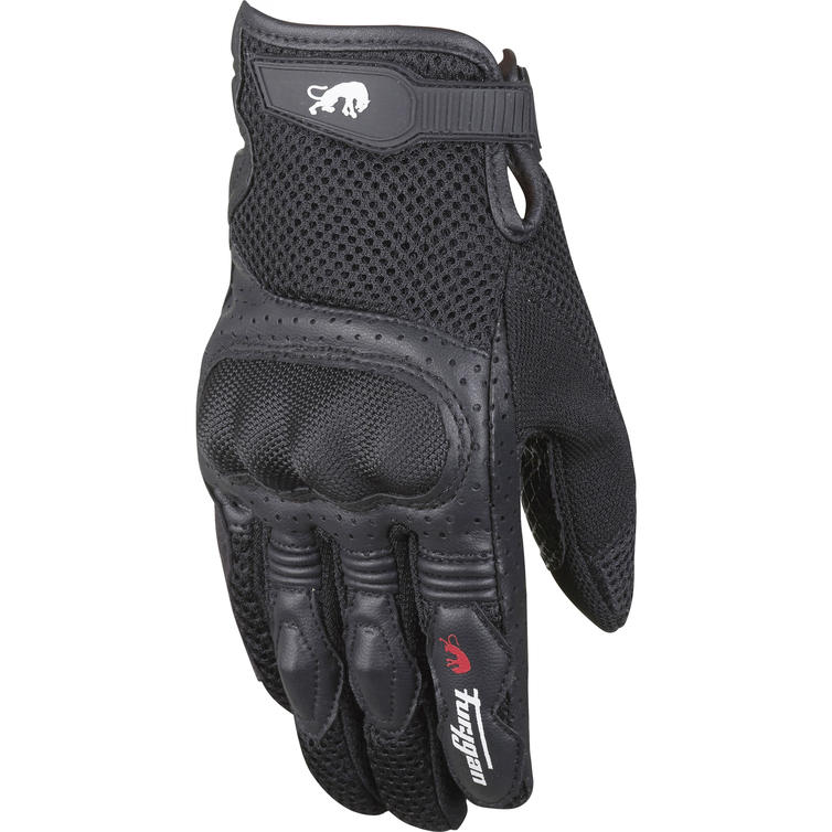 Furygan TD12 Ladies Motorcycle Gloves L Black