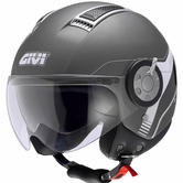 Givi HPS 11.1 Air Demi Jet Open Face Motorcycle Helmet L Titanium