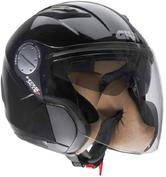Givi HPS X.07 Comfort-J Open Face Motorcycle Helmet XS Black