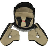 Givi X.07 Helmet Inner Lining and Cheek Pads XL (Size 61) Brown (Z71761R)