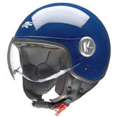 Kappa KV20 Rio B Collection Open Face Motorcycle Helmet XL Blue