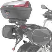 Givi Specific Easylock Pannier Rack & Soft Pannier Support Frame Aprilia Shiver 750 / ABS (10-16) (TE6702)
