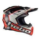Hebo Enduro Fibra Raptor Motocross Helmet S Black