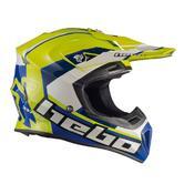 Hebo Enduro Fibra Raptor Motocross Helmet M Green