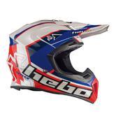 Hebo Enduro Fibra Raptor Motocross Helmet XS White