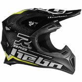 Hebo Enduro Raptor Carbon Motocross Helmet L Green
