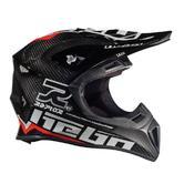 Hebo Enduro Raptor Carbon Motocross Helmet XS Red