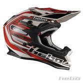 Hebo Konik Motocross Helmet S Red