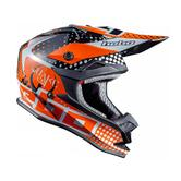 Hebo V321 Quake Motocross Helmet S Orange