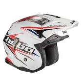 Hebo Zone 4 Extreme II Trials Helmet S White