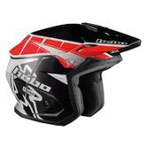 Hebo Zone 5 T-One Trials Helmet XS Red