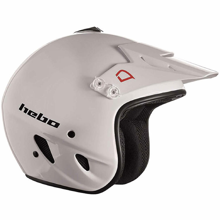 Hebo Zone Polycarbonate Trials Helmet XL White