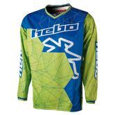 Hebo End-Cross Sway Motocross Jersey L Green