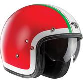 HJC FG-70S Heritage Open Face Motorcycle Helmet L Red (MC1)