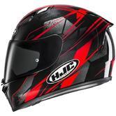 HJC FG-17 Toba Motorcycle Helmet S Black Red