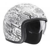 HJC FG-70S Machu Open Face Motorcycle Helmet S Grey
