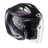 HJC FG-JET Jike Open Face Motorcycle Helmet M Black Pink