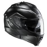 HJC IS-MAX II Dova Flip Front Motorcycle Helmet XS Black White