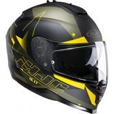 HJC IS-17 Armada Motorcycle Helmet L Black Yellow