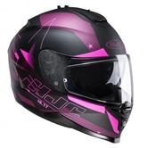 HJC IS-17 Armada Ladies Motorcycle Helmet M Black Pink