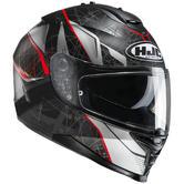 HJC IS-17 Daugava Motorcycle Helmet S Red (MC1SF)
