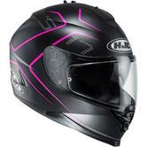 HJC IS-17 Lank Motorcycle Helmet M Black Pink (MC8SF)