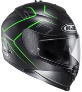 HJC IS-17 Lank Motorcycle Helmet M Green (MC40SF)