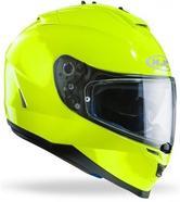HJC IS-17 Solid Motorcycle Helmet XL Yellow Fluorescent