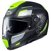 HJC RPHA 90 Rabrigo Flip Front Motorcycle Helmet S Black Yellow