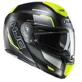 HJC RPHA 90 Rabrigo Flip Front Motorcycle Helmet XL Black Yellow