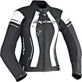 Ixon Alcyone Ladies Motorcycle Jacket M Black White
