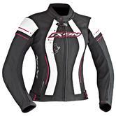 Ixon Alcyone Ladies Motorcycle Jacket M Black White Fuchsia