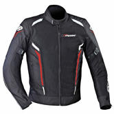 Ixon Cooler Mens Motorcycle Jacket XL Black Red