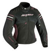 Ixon Electra Ladies Motorcycle Jacket 5XL Black Aubergine