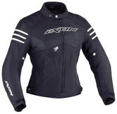 Ixon Electra Ladies Motorcycle Jacket M Black White