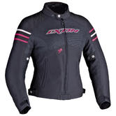 Ixon Electra Ladies Motorcycle Jacket XS Black Fuchsia