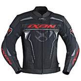 Ixon Frantic Motorcycle Jacket L Black Red