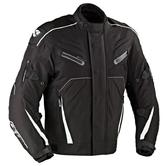 Ixon Gallium Pro Men's Motorcycle Jacket XXL Black Grey White
