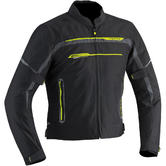 Ixon Zetec Light Men's Motorcycle Jacket L Yellow Black Grey