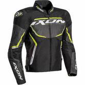 Ixon Sprinter Sport Men's Motorcycle Jacket XXL Black Grey Yellow