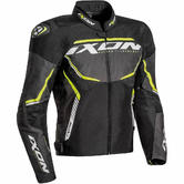Ixon Sprinter Sport Men's Motorcycle Jacket S Black Grey Yellow