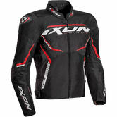 Ixon Sprinter Sport Men's Motorcycle Jacket XXL Black White Red