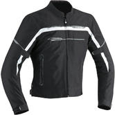 Ixon Zetec Light Men's Motorcycle Jacket L Black White Grey